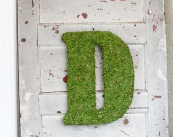 Moss Letters- Wedding / Home Decor