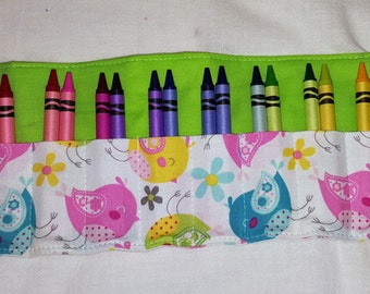 Little Chicks Crayon roll