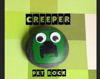 MINECRAFT CREEPER Pet Rock