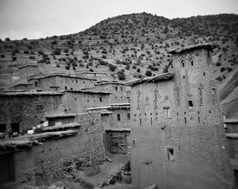 Tilouguit, Morocco, the home of the prefect