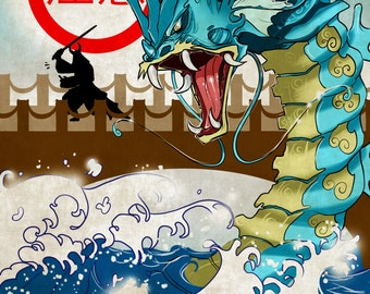 Caution Ancient Blue Beast