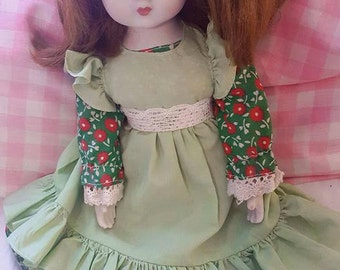 Japanese Porcelain Soft Body Doll