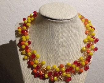 Croche necklace