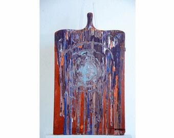 Acrylic on wood