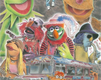 The Muppets Limited Edition Art Print