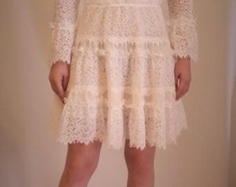 Louella. Scallop lace dress,