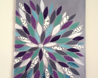 Flower Wall Art 16x20 Canvas Painting