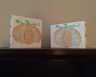 Pumpkin canvas set