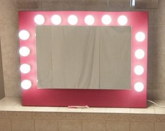 Full Length Mirror With Light Bulbs Ikea
