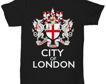 City Of London Crest - Domine Dirige Nos  V2