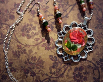 """Shop """"beauty and the beast jewelry"""" in Jewelry Sets"""
