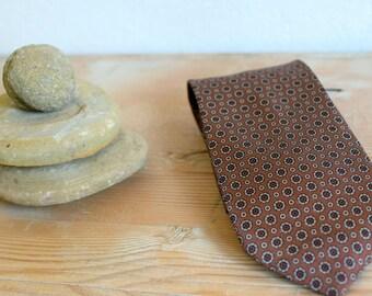 Vintage tie, Necktie, Silk tie, Mens accessories, Mens tie, Gift for him, Mens necktie, wedding tie, Boho tie, Hipster tie, groom, Boyfriend
