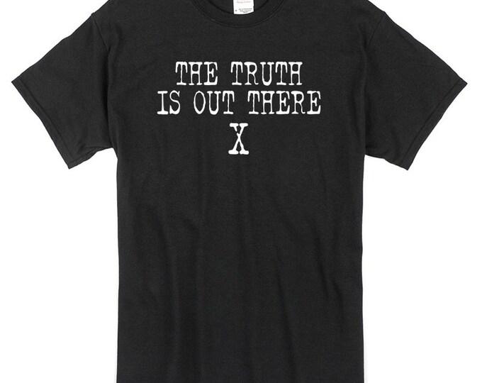 Trust no one xfiles tshirt