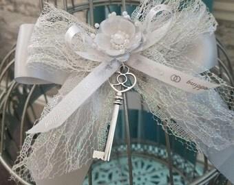 Silver  Wedding Birdcage Card Holder /Classic Wedding/Card Decor/Wedding Card Holder