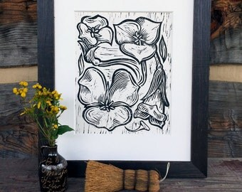Sego Lily - Block Print
