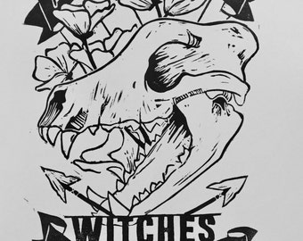 Witches Print