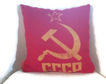 CCCP Russian Pillow