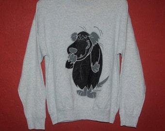 Sudadera vintage de Hanna Barbara 1994 medio / la década de 1990 sudadera historieta razas Wacky vendimia anime suéter / bonito diseño / Jersey