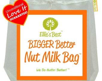 A Nut Milk Bag That's Bigger & Better Plus A Recipe E-Book