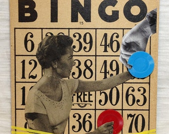 One More For my Friend Bingo Card Collage