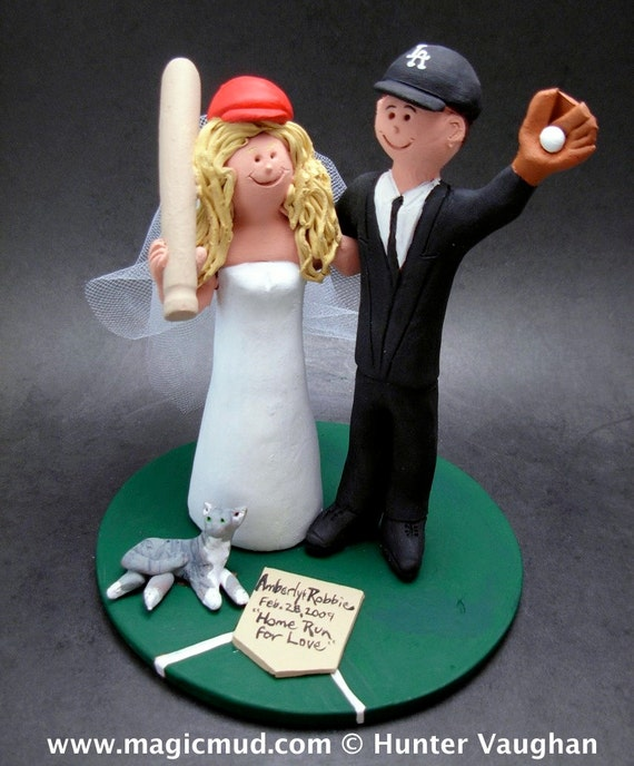 angels baseball wedding cake topper los angeles dodgers baseball wedding cake topper los angeles 10763
