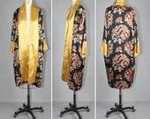 vintage kimono / 1920s / silk robe / YEAR of the DRAGON antique kimono
