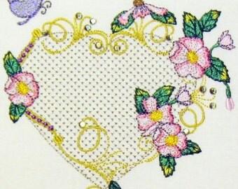 Bella Rose Dogwood Fleur-22 Design Set + Bonus Designs - Embroidery Designs