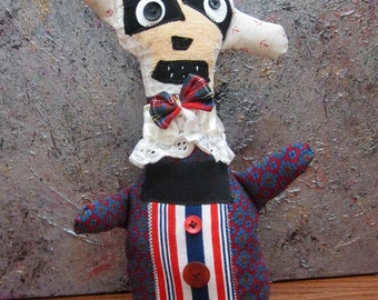 Primitive Folk Art Doll Emilio