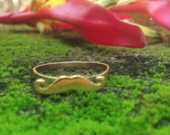 New Listing! Mustache Ring