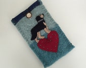 RESERVED Custom Dog Breed, Wool Phone Case