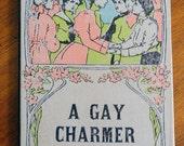 Handbound Artist Journal from vintage A GAY CHARMER