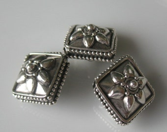 Beads-Sterling silver beads-beading supplies-jewelry supplies-ONE BEAD