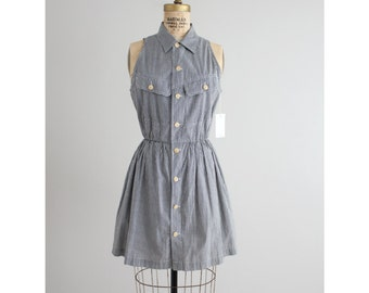 RESERVED ITEM! gingham mini dress / Ralph Lauren Country dress / gingham dress