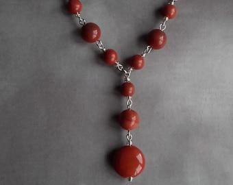 Red Jasper Necklace