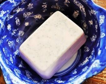 Exfoliating Soap  Goat's Milk Soap - Hawaiian Sunrise Scent - Dead Sea Clay Soap - Goat Milk Soap - Soap Bar