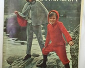Columbia Minerva Knits for Kids -  Book 757 - Vintage Knitting Pattern Book for Boys and Girls Size 8 to 14 - From 1965 - GREAT book