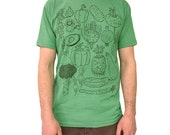 Vegetables shirt plant tshirt mens tee unisex green farmers market farmer avocado carrot squash vegetarian vegan
