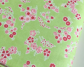 SALE Little Ruby fabric, Little Lady in Light Green by Bonnie and Camille, Floral fabric, Green fabric, Small print fabric, Choose the cut