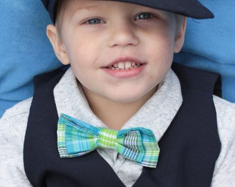 Boy Bow Ties age 0 to 12 yrs  Custom made made in your favorite design Baby size, toddler size and child size Bowties