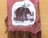 Begging Elephant of Willenoor Blank Notebook, Blank Book, Blank Journal