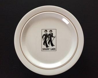 Vintage Shenango Plate Sharp Lads Restaurant Ware 1943