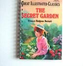 The Secret Garden Notebook / /Recycled Book Journal