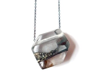 Material Landscape Jewel Pendant.