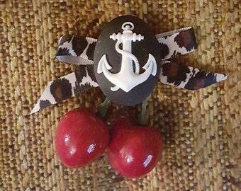 Cyber Monday, Anchor, Cherry bows, Rockabilly, Pinup, Leopard print, MsFormaldehyde, Nautical