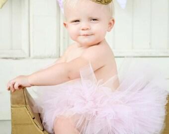 Gold Lace Crown, Cake Smash Crown, Vintage Style First Birthday Crown, Princess Crown Tiara Sparkling Crown, Photo Prop, Princess Birthday