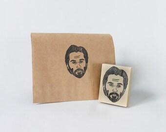 Keanu Reeves Handmade Stamp