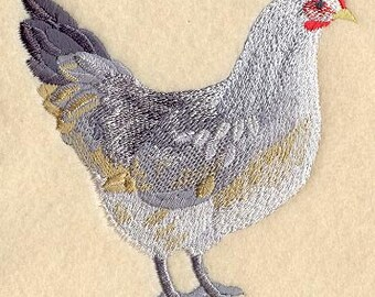 Chicken Towel Ameraucana Hen Tea Towel