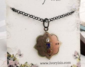Oddfellows Reversible FLT Vintage Necklace
