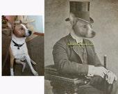 Custom Pet Art, Custom Pet Portrait, Pet Portrait, 16x20 print, Custom Dog Art, Custom Cat Art, Pet Memorial, Personalized Pet Art, Dog Loss