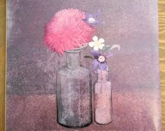Vintage Book Morris Graves Flower Paintings, Mid Century Floral Painting, Coffee Table Interior Design Book